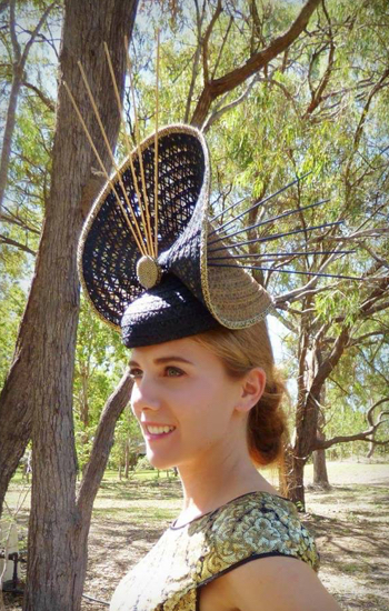 Zarbella recycled natural wood and fibre racehat